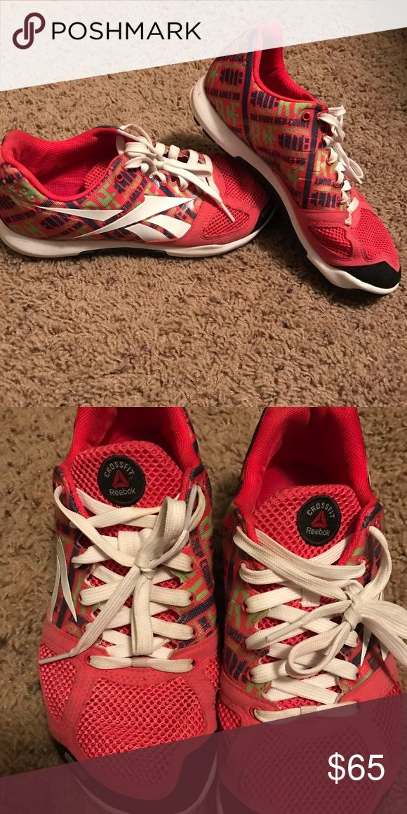 Reebok crossfit shoes Barely worn Reebok Shoes Athletic Shoes