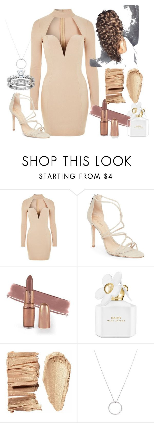 """""""Brown Goddess"""" by namyadokess on Polyvore featuring Rare London, Schutz, Marc Jacobs, Roberto Coin, casual, brown, goddess, smooth and charming"""