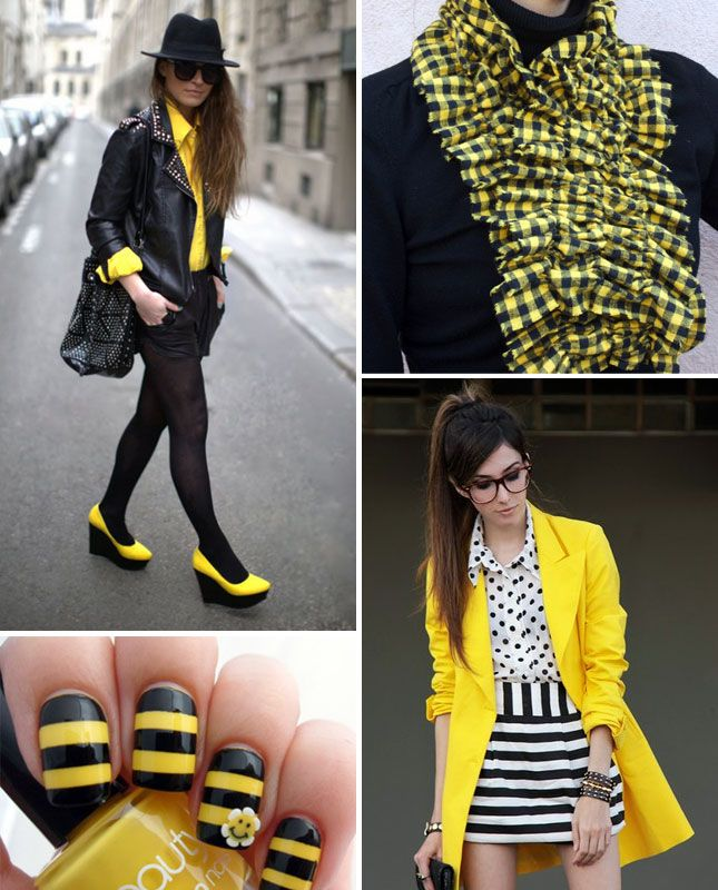 "Chic ""bee"" outfit (great Halloween costume idea!)"