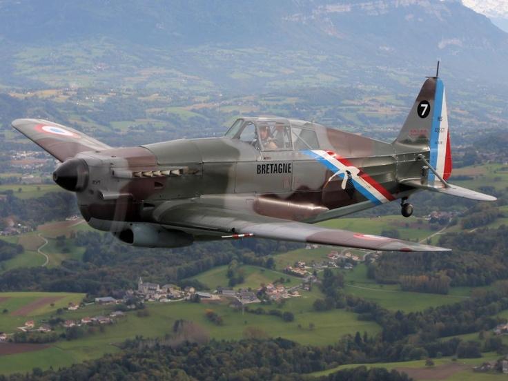Morane Saulnier-406, Fighter, French, WWII