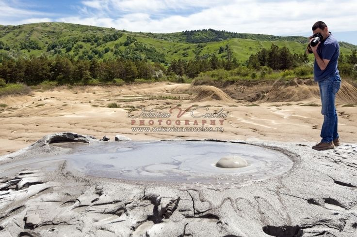 The Mud Volcanoes are a geological reservation located in the Berca commune in the Buzau County in Romania. The mud volcanoes from the Sub Carpathians are formed due to the underground eruptions of gases generated by oilfields.
