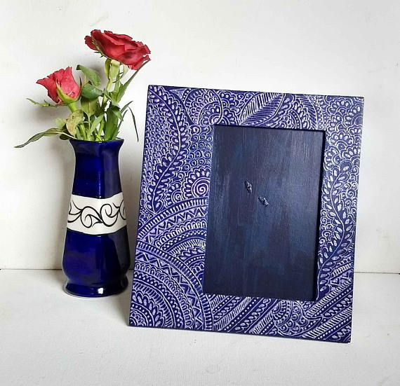 Unique Picture Frame Indian Design Picture Frame Wooden