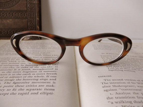 Vintage occhiali tortoise shell Titmus  di TrunkGypsies su Etsy