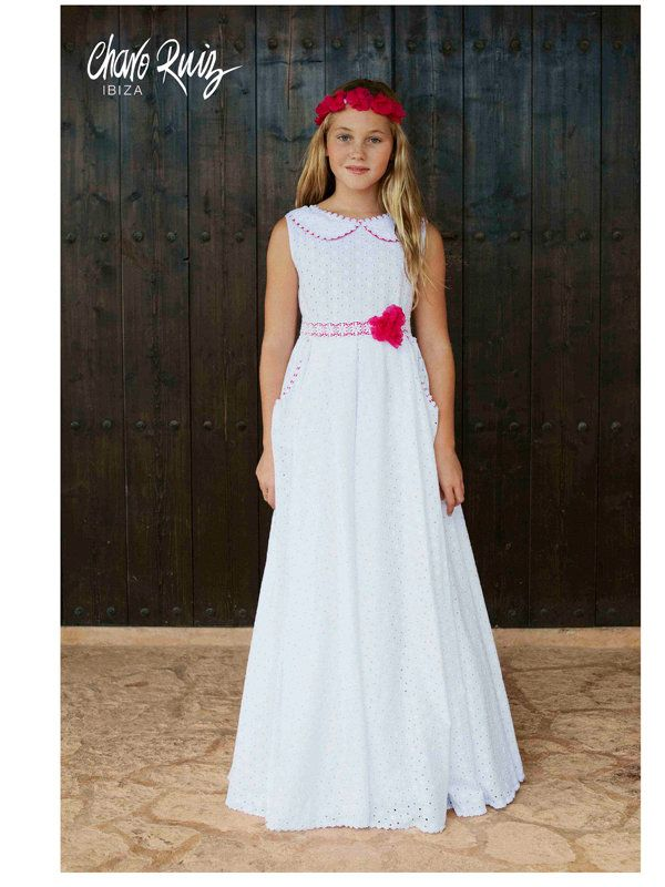 vestidos de comunion sencillos - Buscar con Google