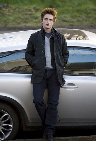 Robert Pattinson As Edward Cullen in 2008's Twilight and 4 more films to complete The Twilight Saga