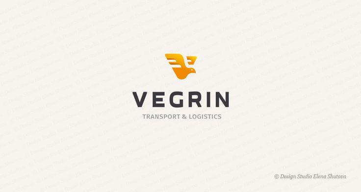 Дизайн логотипа для транспортной компании