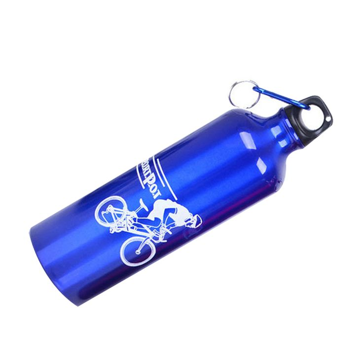 GOHIDE A Mountain bike bottles bicycle outdoor sports bottle ride aluminum alloy water sport bottles bicycle water random color