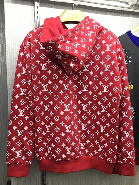 UA Replica Supreme X Brand hoodie in RED in 2019  0673040bd