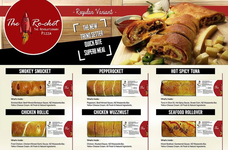 Regular Variant Ro-cket Pizza Indonesia | Revolutionary Pizza