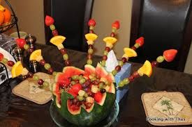 Image result for watermelon peacock