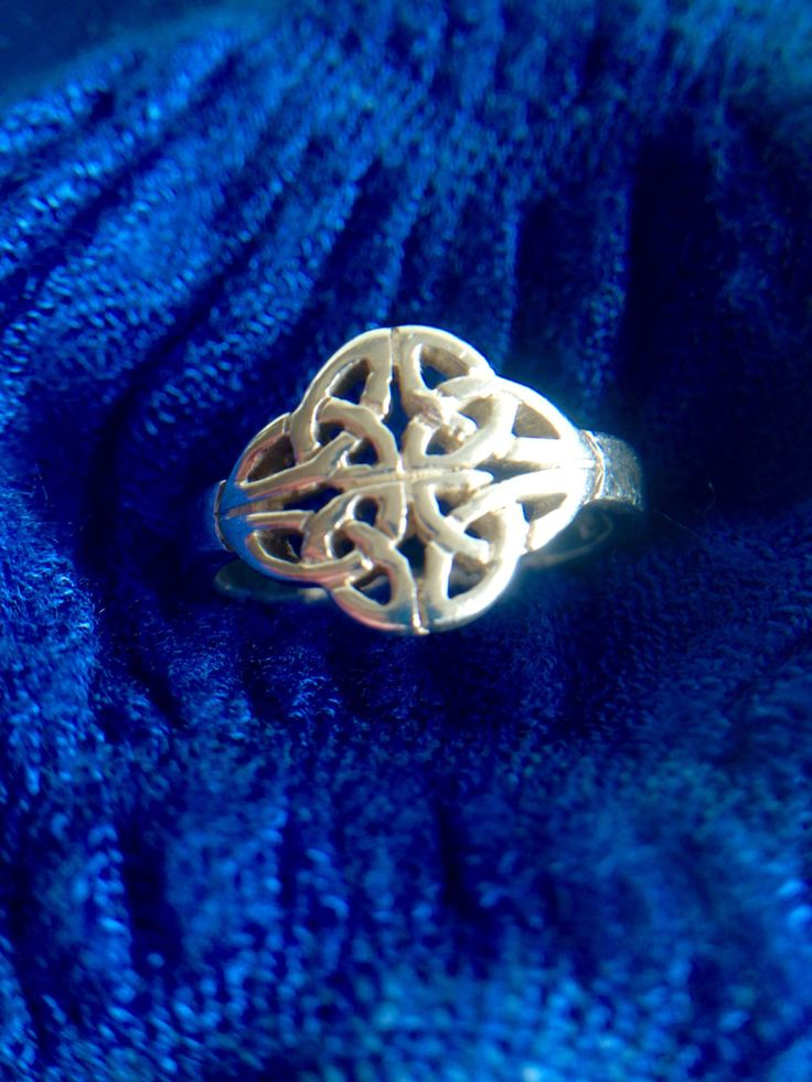 A personal favorite from my Etsy shop https://www.etsy.com/ca/listing/476299970/silver-celtic-ring