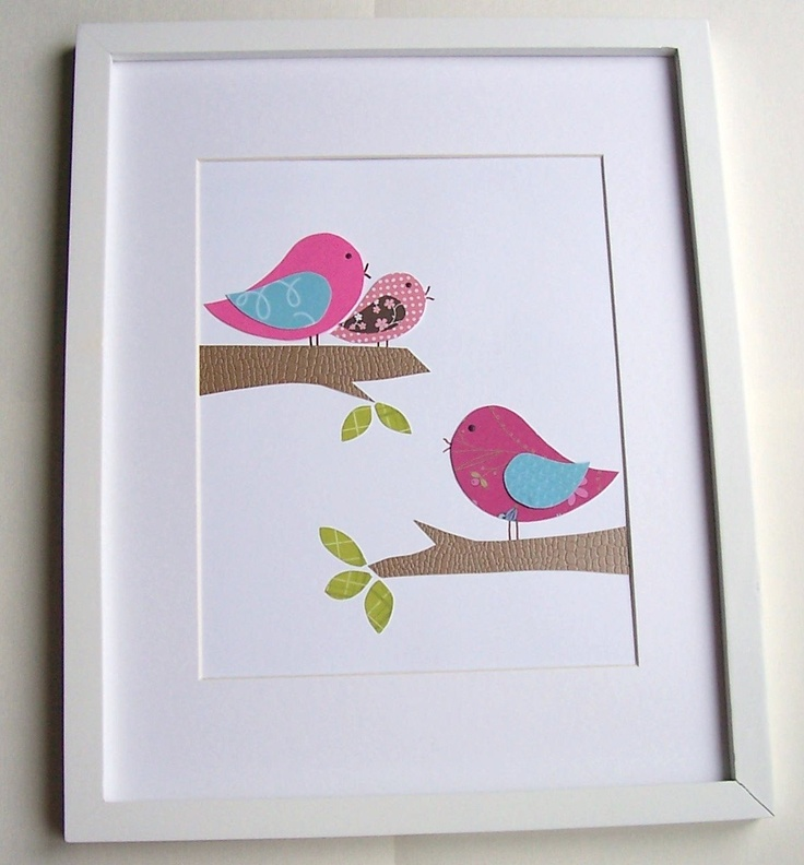 Bird print for nursery...so cute | Nursery Inspiration ...