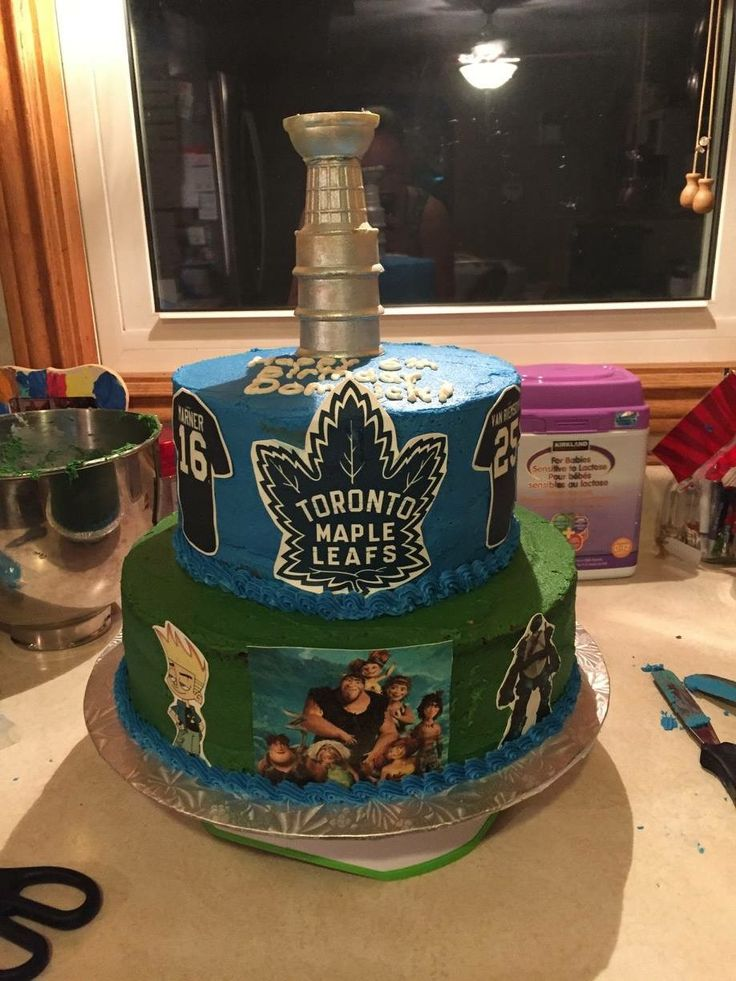 Best 20 Stanley Cup Cakes Ideas On Pinterest