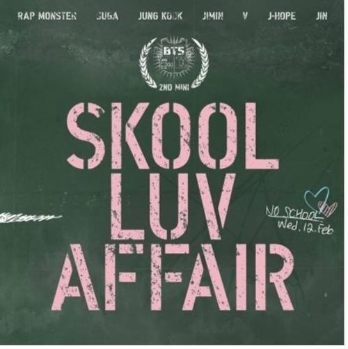 "BTS 2nd Mini Album ""SKOOL LUV AFFAIR"" CD 115p Booklet Photocard K-POP Sealed"