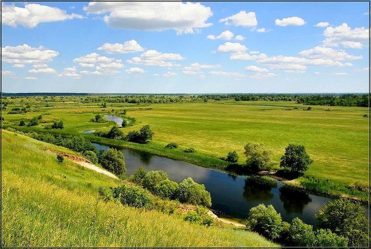 Курская область. Река Сейм.