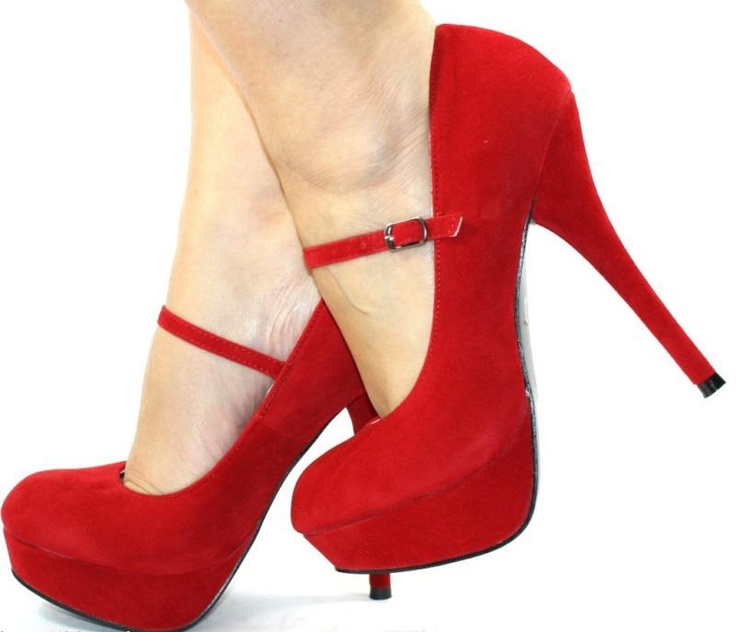 44 best Shoes- Red images on Pinterest
