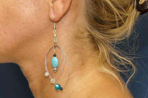 Traum der Südsee - Ohrschmuck - Ohrhänger