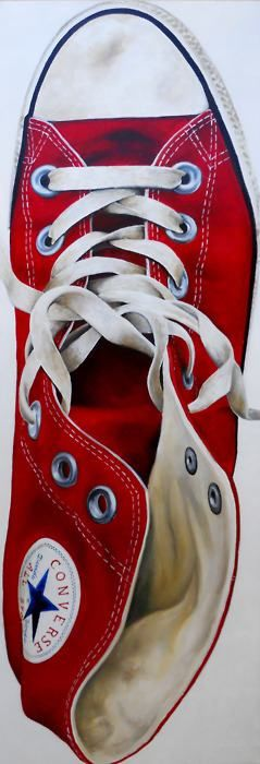 Red converse http://www.elegancetiles.com.au/product-range/cae-0006/flair-passion-300x600/#