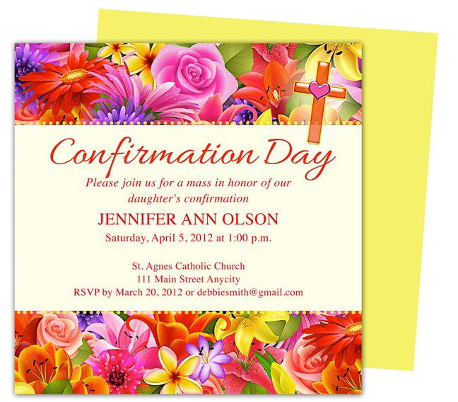1000 images about communion confirmation invitations for Free printable confirmation invitations template