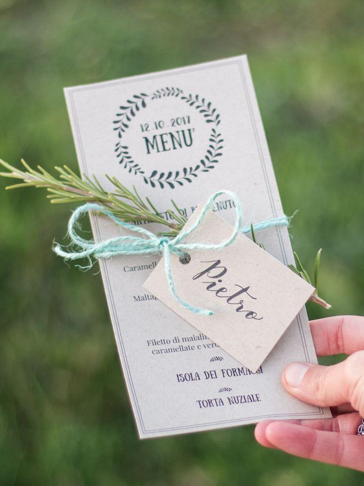 Menu Matrimonio Rustico : Oltre fantastiche idee su menu di nozze pinterest