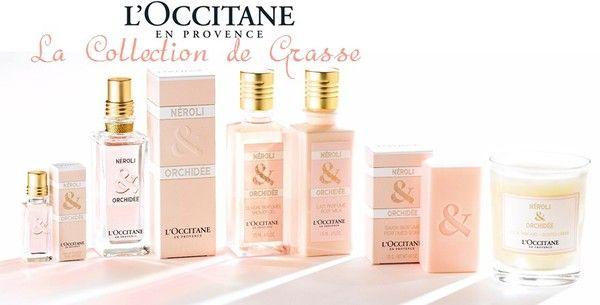 MAKEUP ARENA: NAJAVA: L'Occitane La Collection de Grasse - Neroli & Orchidee i Mer & Mistral