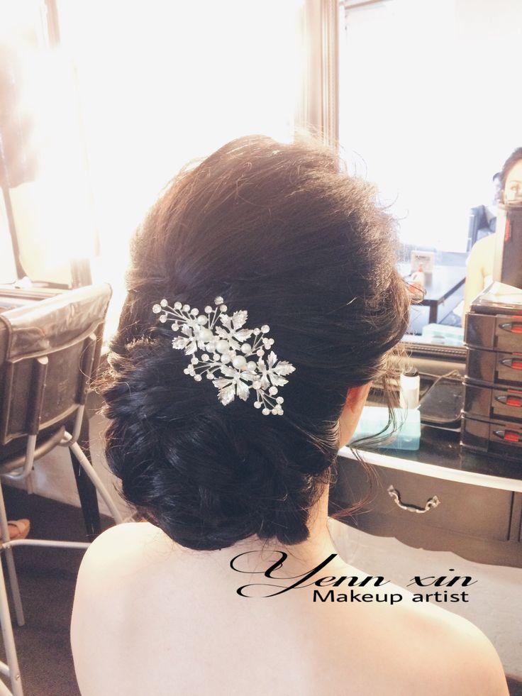 classic updo, weddinghairstyle, bridehairstyle, updo