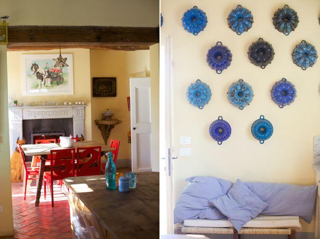 romantic kitchen # shabby chic kitchen # iron cast mold # B&B Cà Bianca dell'Abbadessa Bologna Italy #