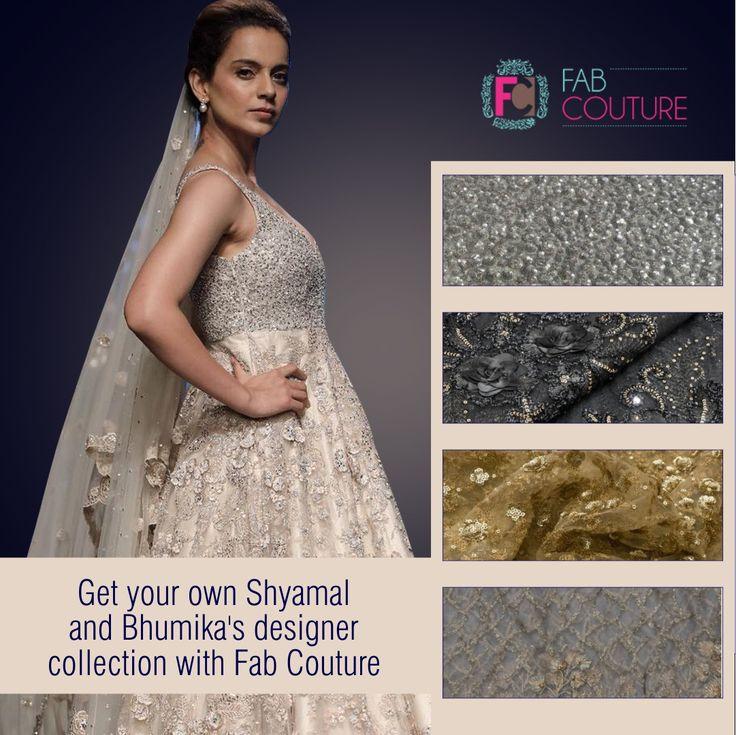 Get your own Shyamal and Bhumika's designer collection with FabCouture. Grab your fabric at: https://fabcouture.in/ . #FabCouture! #DesignerFabric at #AffordablePrices  #DesignerDresses #Fabric #Fashion #DesignerWear #ModernWomen #DesiLook #Embroidered #WeddingFashion #EthnicAttire #WesternLook #affordablefashion #GreatDesignsStartwithGreatFabrics #LightnBrightColors #StandApartfromtheCrowd #EmbroideredFabrics