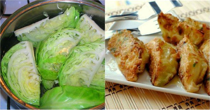 Iată ce puteți face din varză, ouă și pesmete! Un aperitiv gătit rapid! - Retete-Usoare.eu
