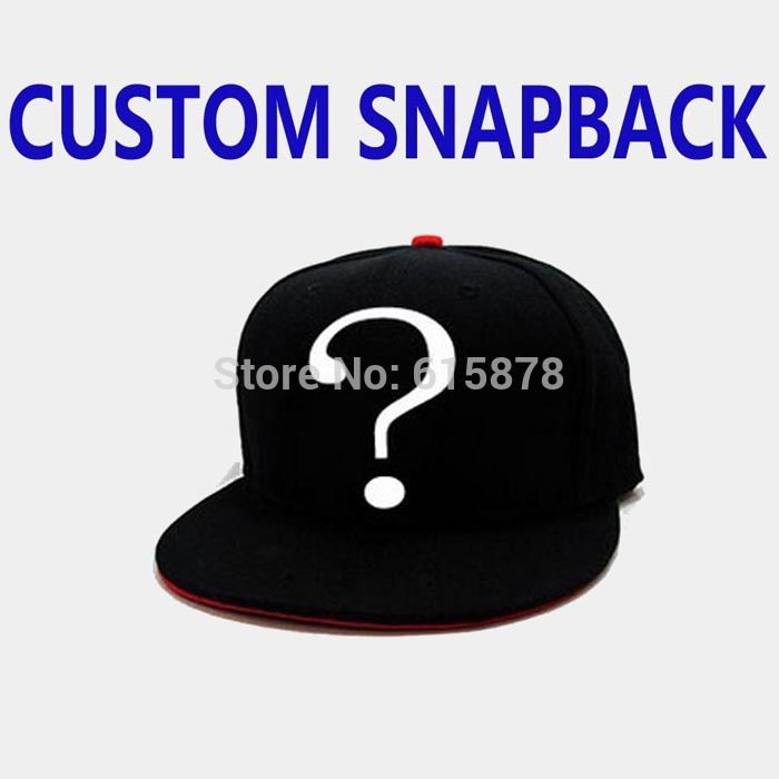 2017 Customize Snapback  Fashion Hip hop Hats Baseball Cap Adjustable Caps Hats,Design Snapback Hats,Wholesale Free Shipping