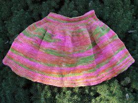 Knitting Pattern For Toddler Skirt : 17 Best images about Knitting patterns ~ Little girls skirts on Pinterest H...