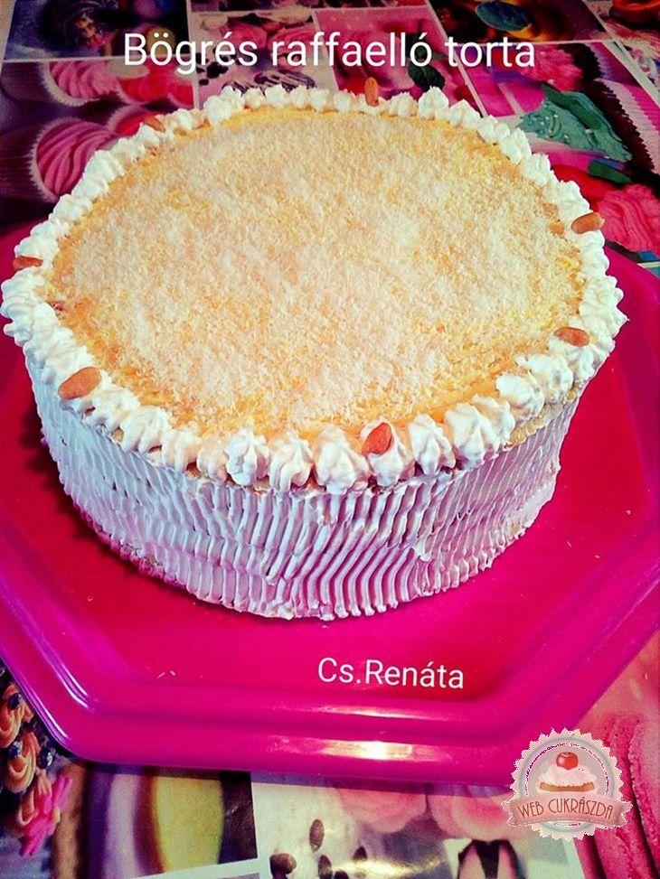 Bögrés raffaello torta