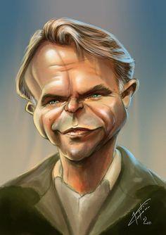Sam Neill by bogdancovaciu on deviantART