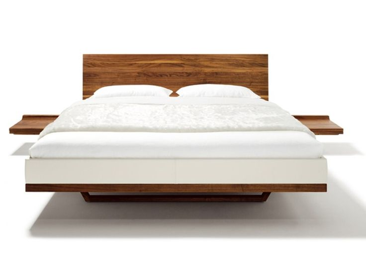 Download the catalogue and request prices of solid wood double bed Riletto  | double bed,