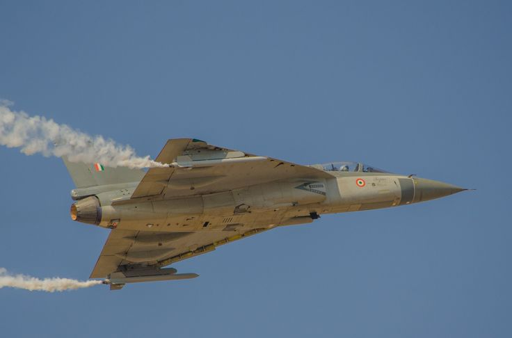 The HAL Tejas. Ashwin Kumar photo via Flickr