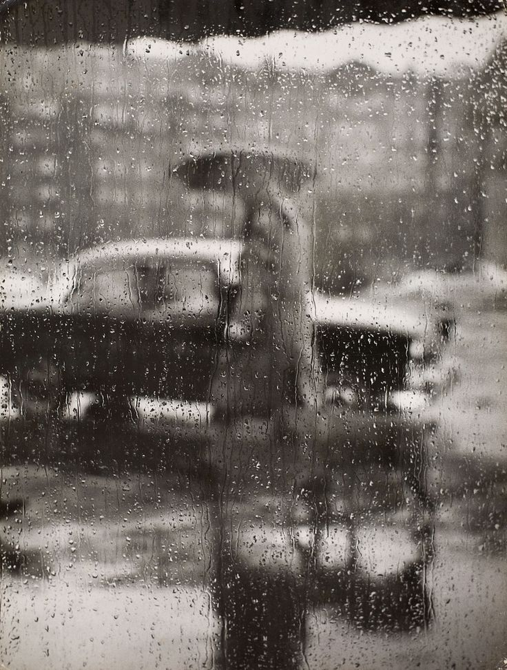 Picture this.. — Sabine Weiss Rain, Paris, 1957.