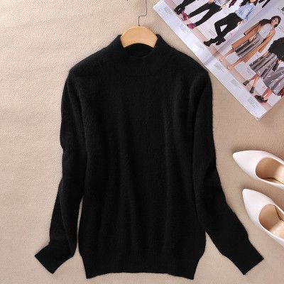 zocept High-quality Cashmere Sweaters Women Fashion Autumn Winter Female Soft and Comfortable Warm Slim Cashmere Pullovers