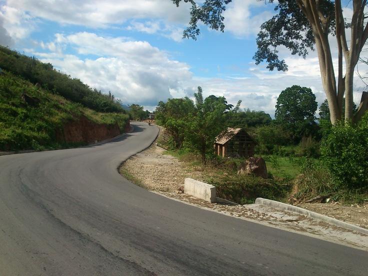Colombia - Vía a Zapatoca, Santander.Dream, Santander De