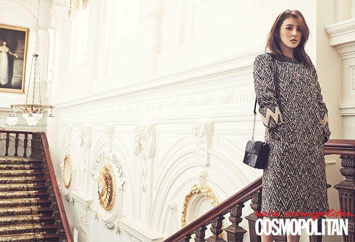 Han Hye Jin Cosmopolitan Korea Magazine October 2013