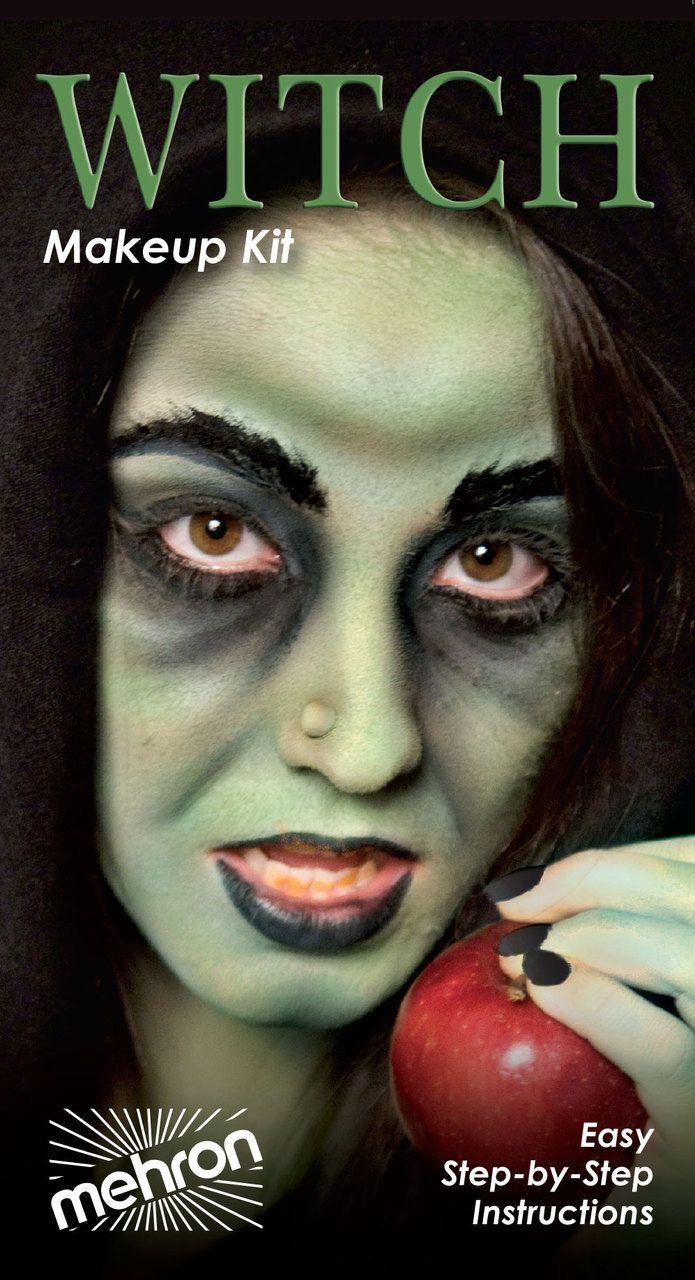 Mehron Witch Character Makeup Kit Witch makeup