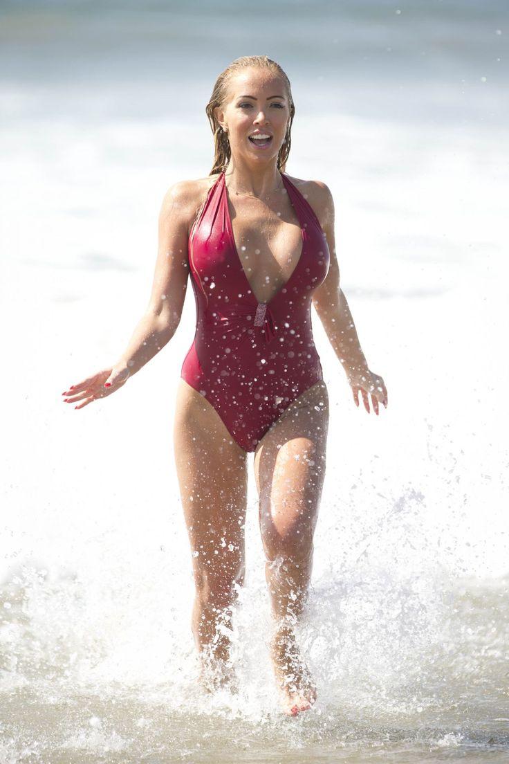 Aisleyne Horgan Wallace Celebrities In Bikinis