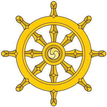 Rueda del dharma - Wikipedia, la enciclopedia libre