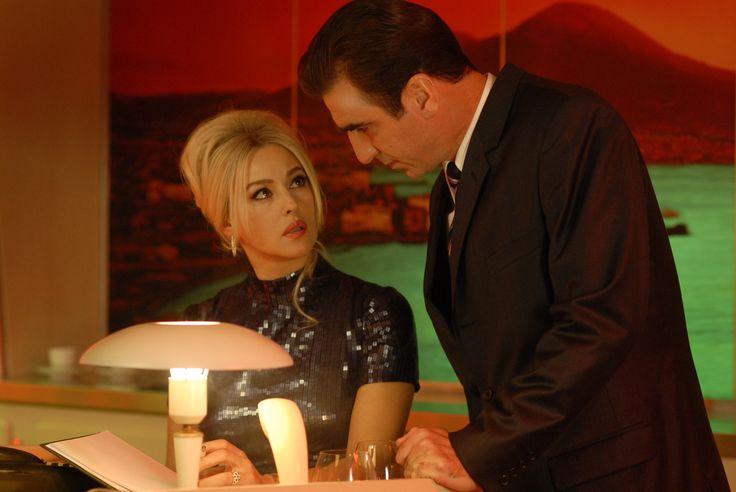 Monica Bellucci and Eric Cantona