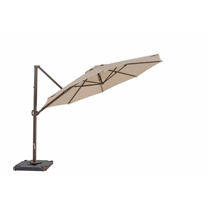 Olen 11 5 Cantilever Umbrella Cantilever Umbrella Patio Umbrellas Patio
