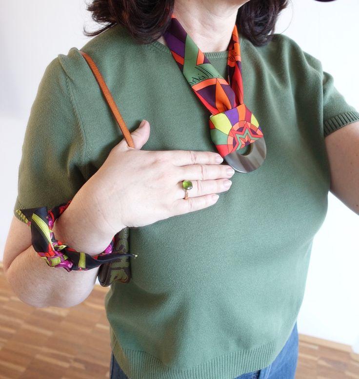 How I Wear My: Pantone's Greenery - Happyface313