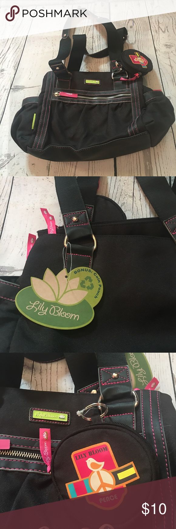 NWT Lily Bloom bag NWT black Lily Bloom bag Lily Bloom Bags
