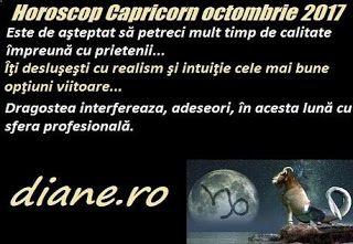 Principalele orientări din horoscopul Capricornului octombrie 2017 sunt o interacţiune intensă, fertilă, avantajoasă în sfera socială şi per...