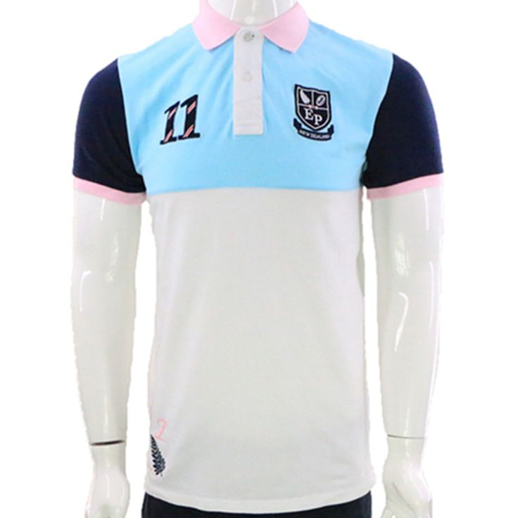 2017 New Summer Brand Eden Park Clothing Men's Polos Shirt Embroidery Short Sleeve Casual Sportswear Breathable Polo Shirts 2815