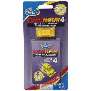 $7.00 ThinkFun Rush Hour 4: Amazon.ca: Toys & Games