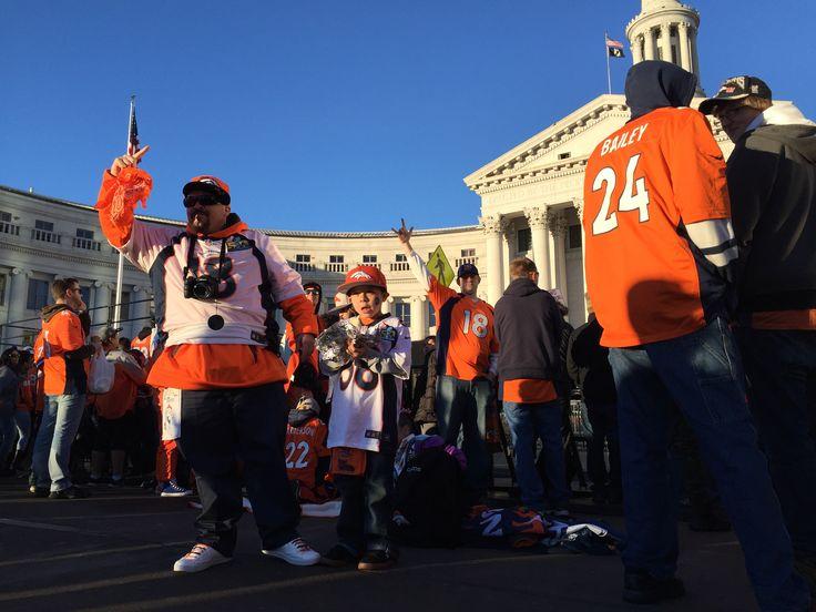 Denver Broncos parade Tuesday at noon, then rally at Civic Center Park